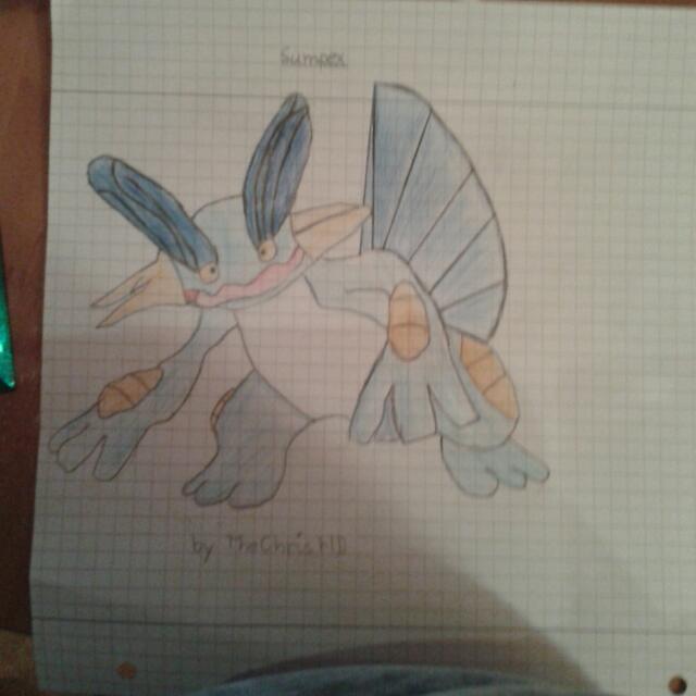 Pokémon-Zeichnung: Sumpex by TheChrisHD