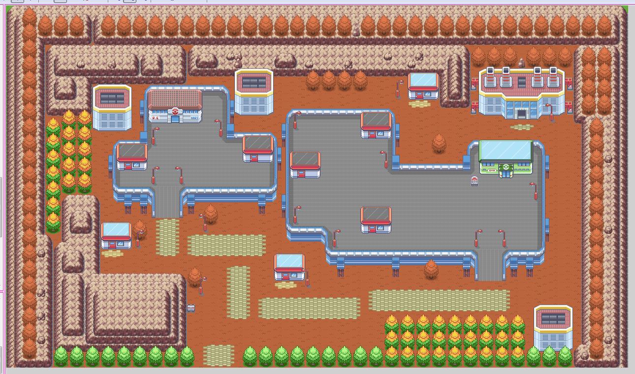 Pokémon-Map: Mirror-City