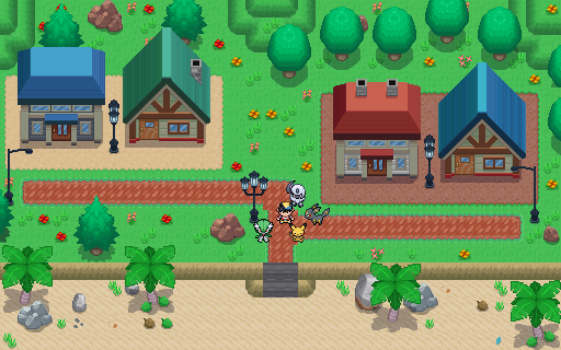 Pokémon-Map: Ferien an der Küste