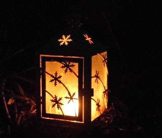 Foto: Laterne bei Nacht...
