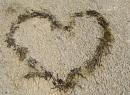 Ein Herz auf dem Schotterweg...