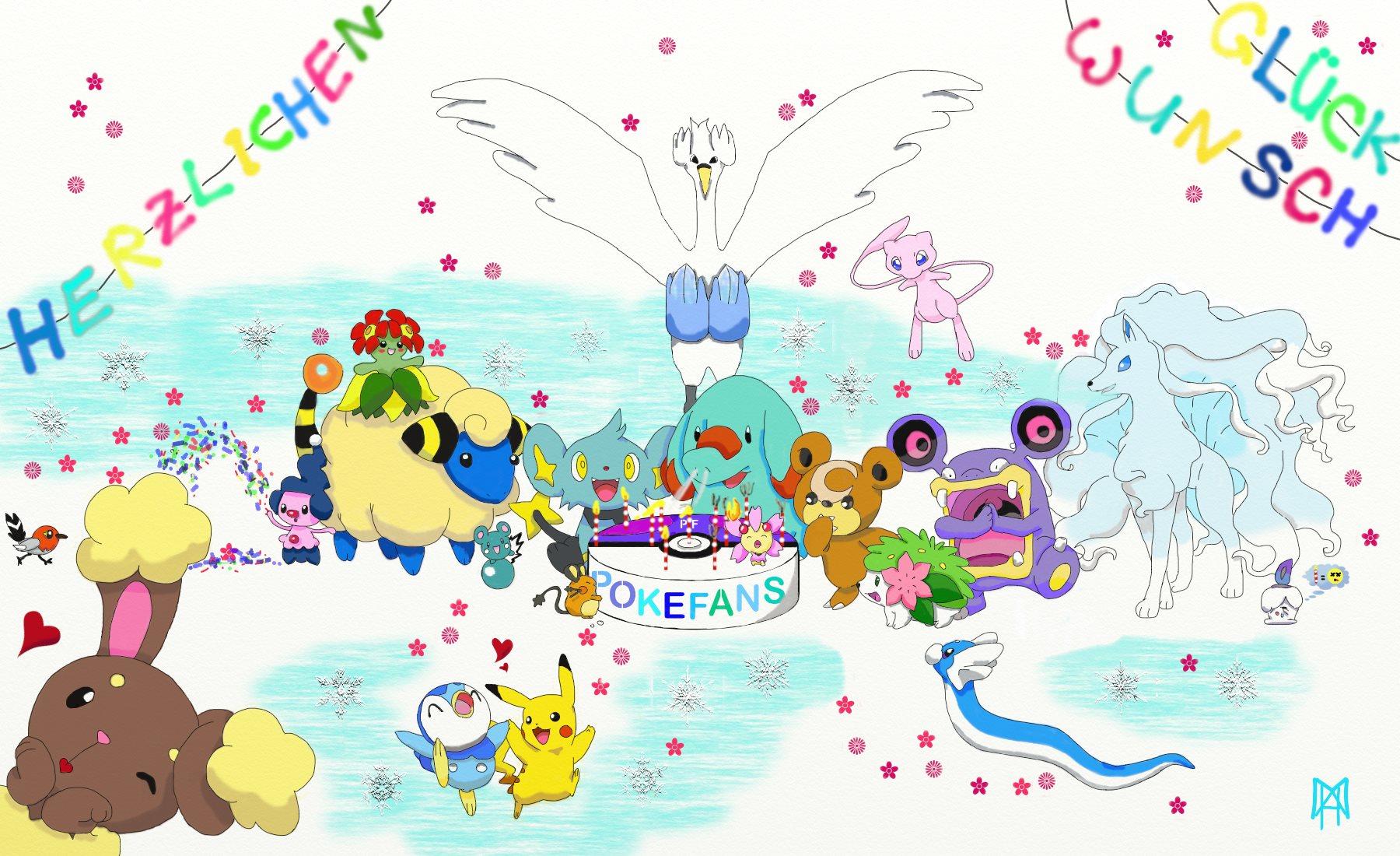 Pokémon-Zeichnung: Pokefans10Jahre-Challenge/22