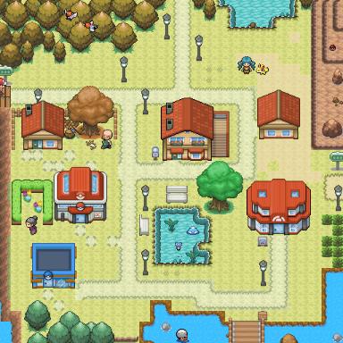 Pokémon-Map: Erste Map