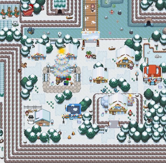 Pokémon-Map: Weihnachten mit Koko