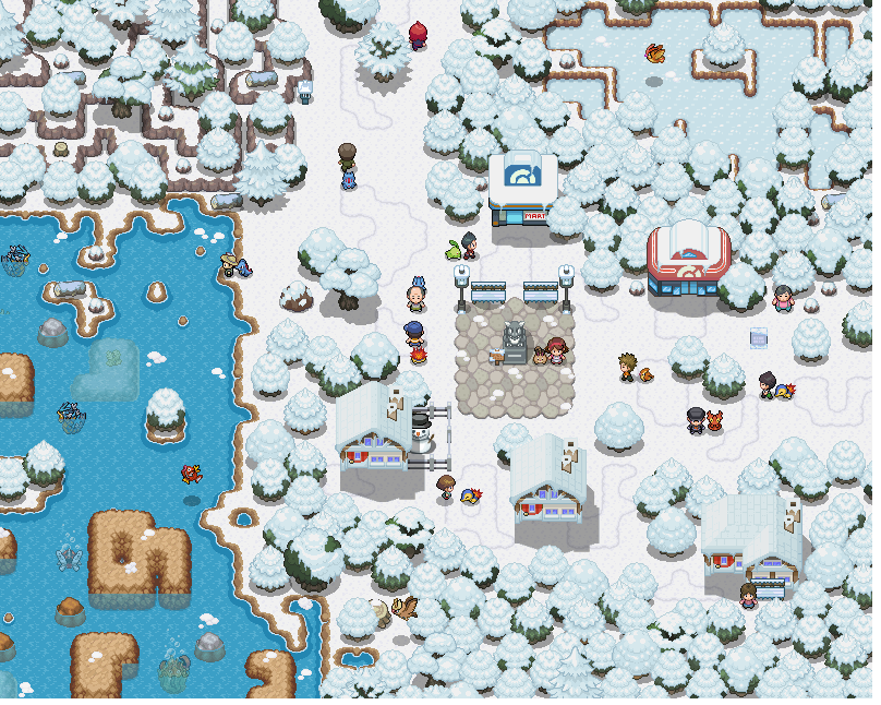 Pokémon-Map: Rosalia City Remake während des Pokefans-LPT