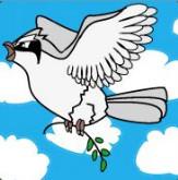 Pokémon-Zeichnung: Friedenstaubsi
