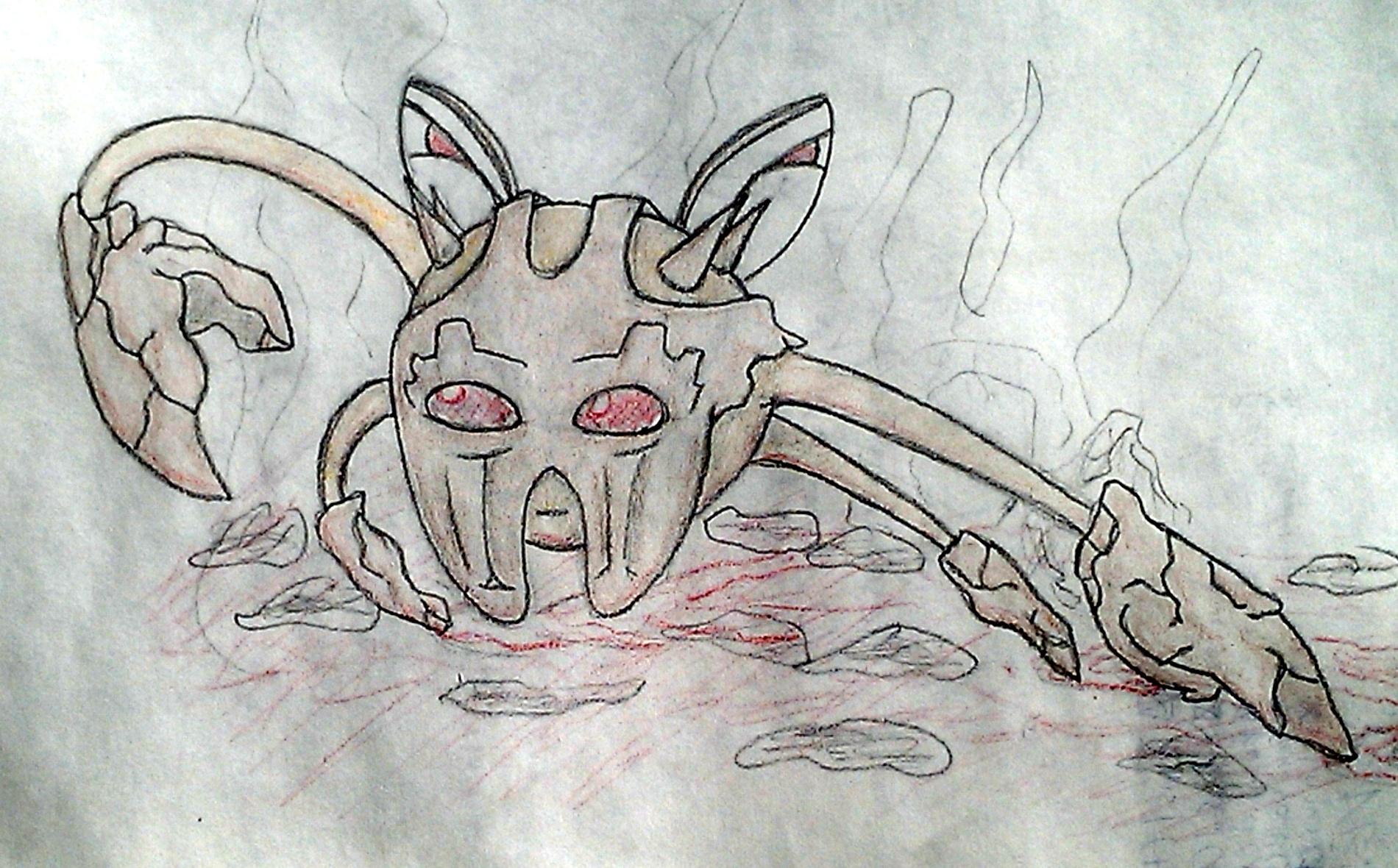Pokémon-Zeichnung: Pyrkla