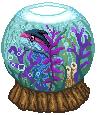 Finneon im Goldfischglas