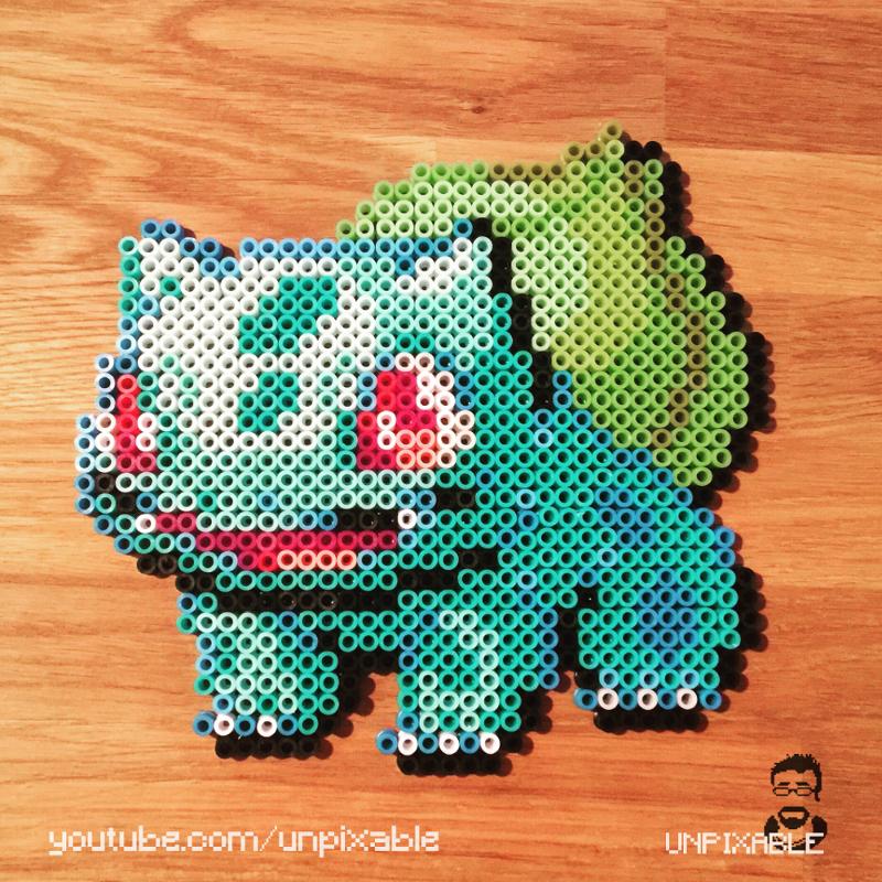 Pokémon-Pixelart: Project PixelDex 001