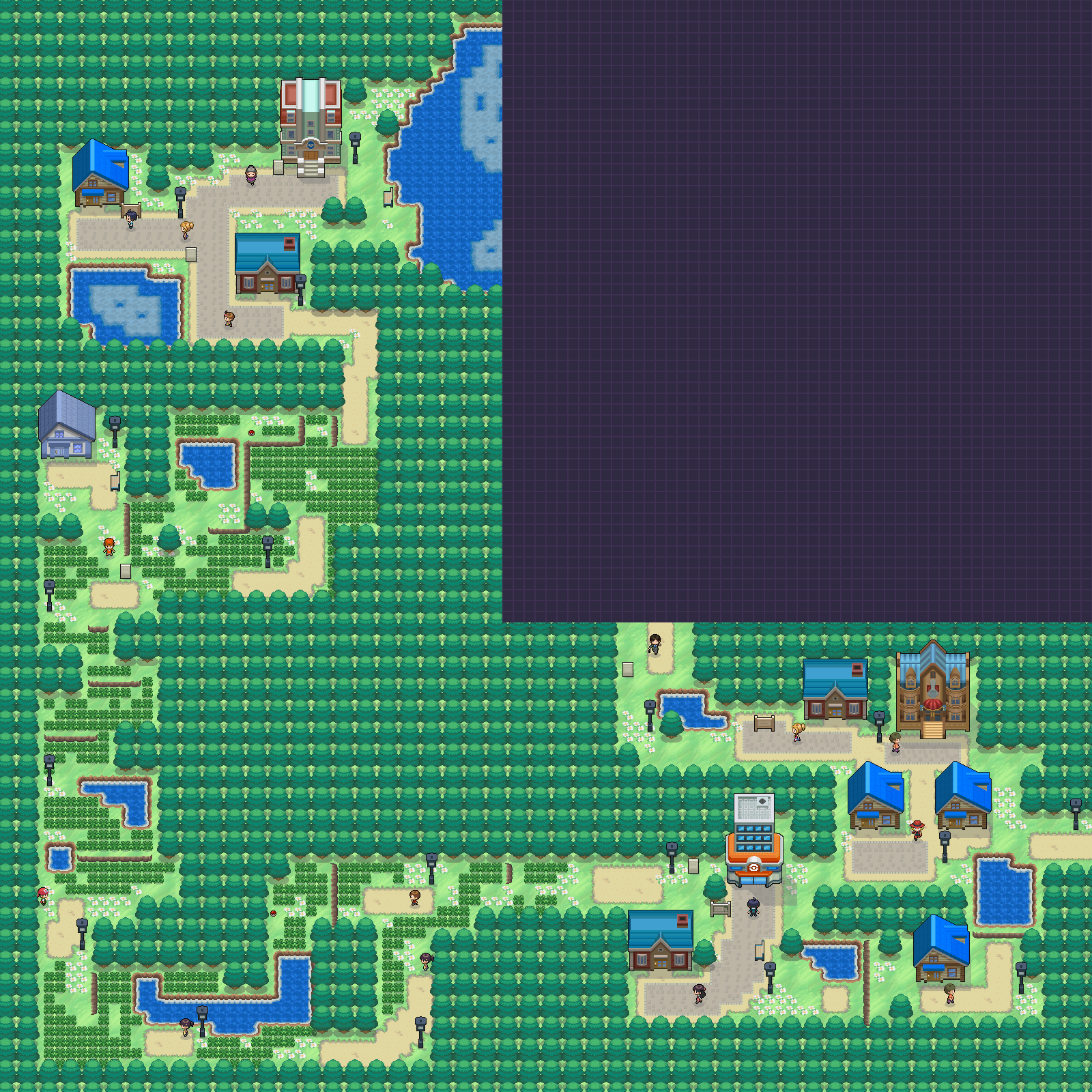 Pokémon-Map: Eigene Region =D
