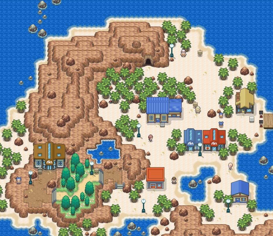 Pokémon-Map: [Hoenn] Faustauhaven