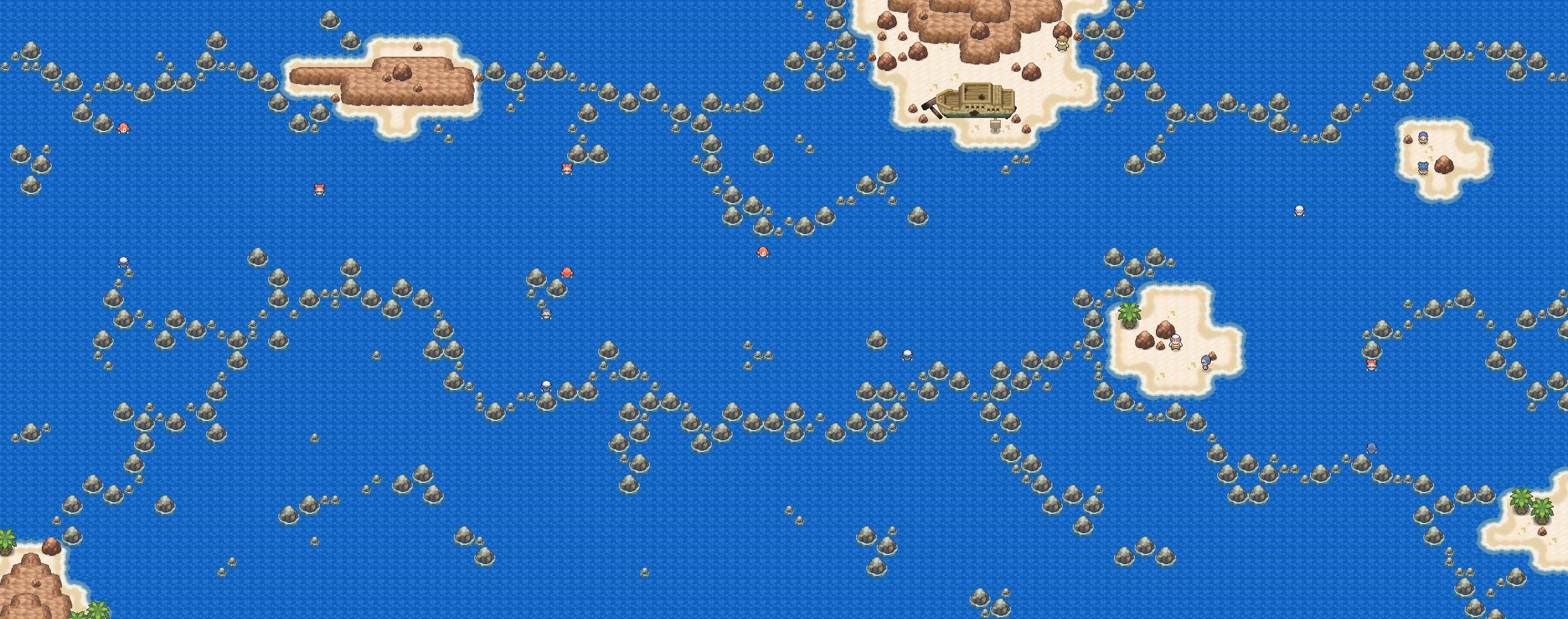 Pokémon-Map: [Hoenn] Route 107 & 108