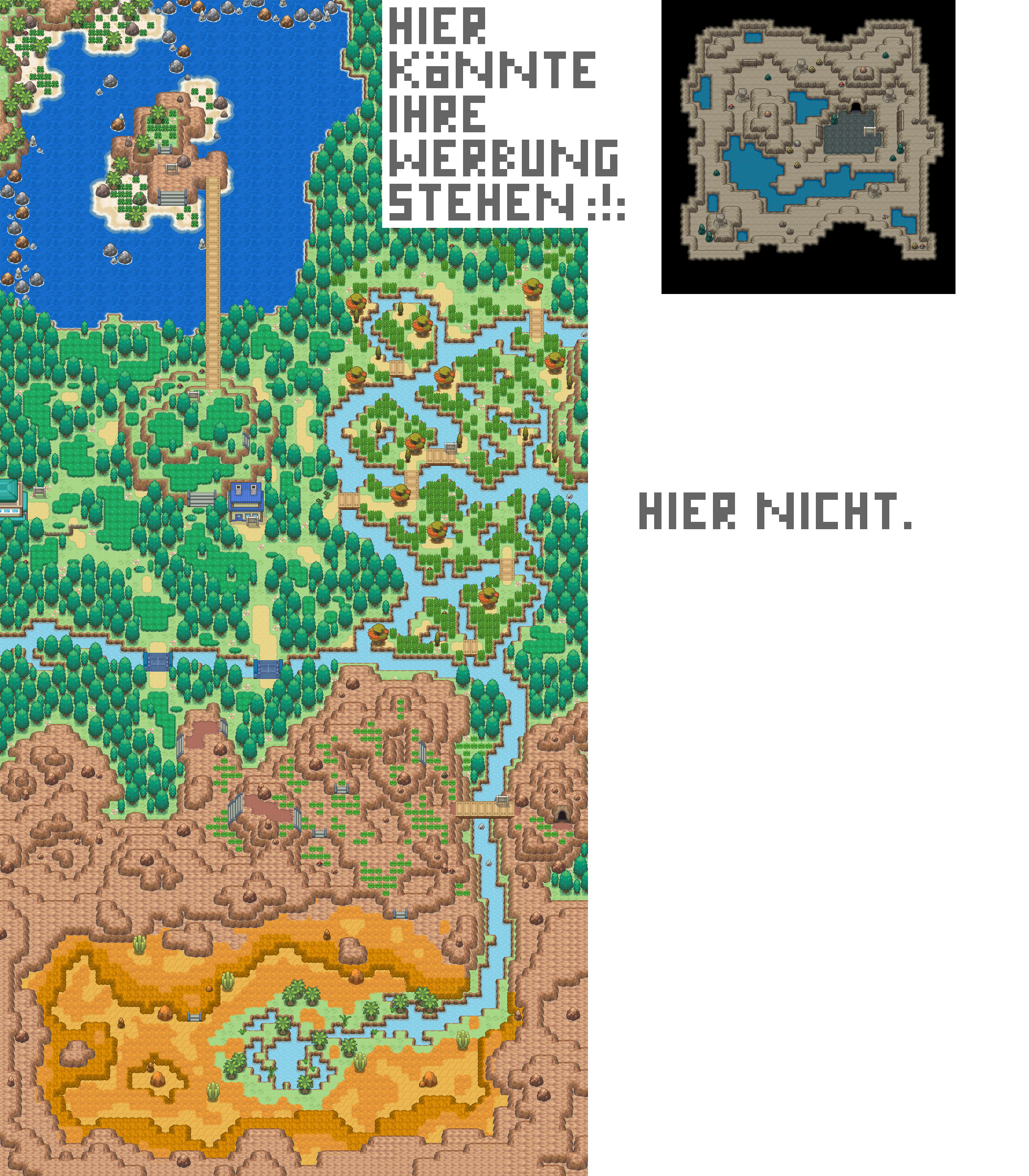 Pokémon-Map: Safarizone (MWB29)