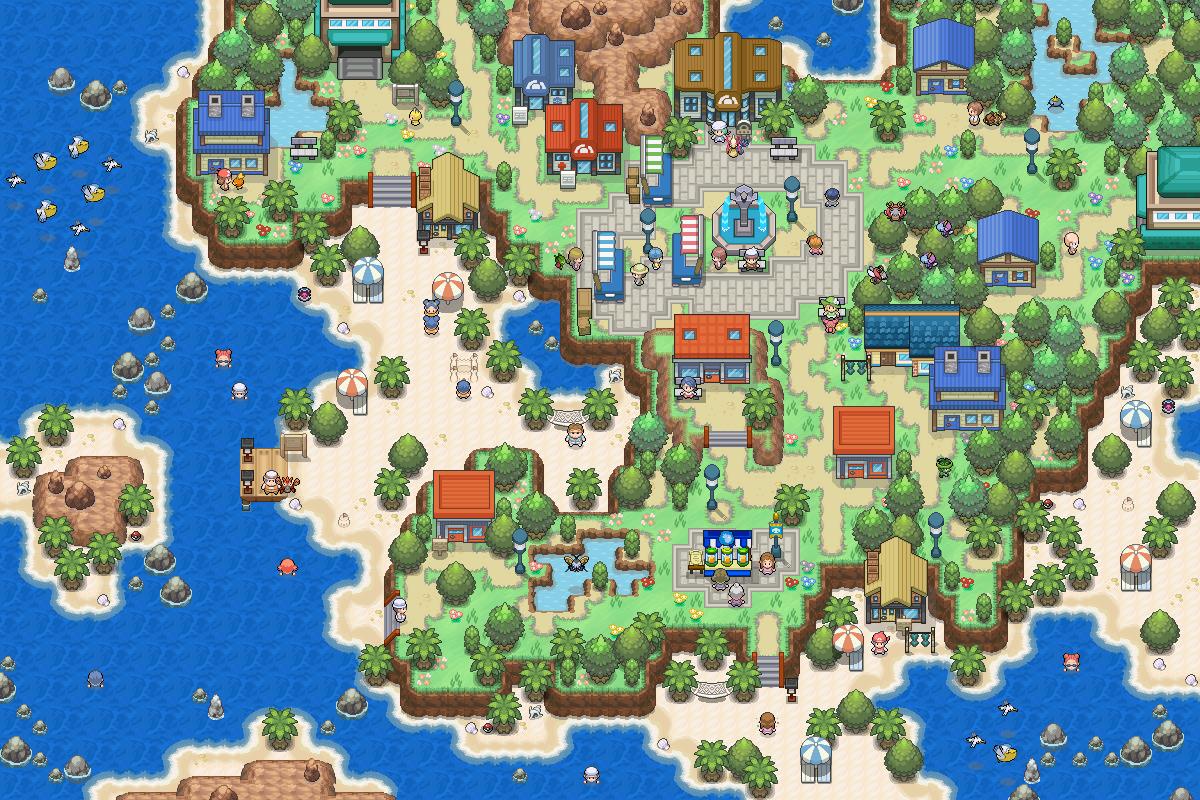 Pokémon-Map: Urlaubsinsel (MWB37)