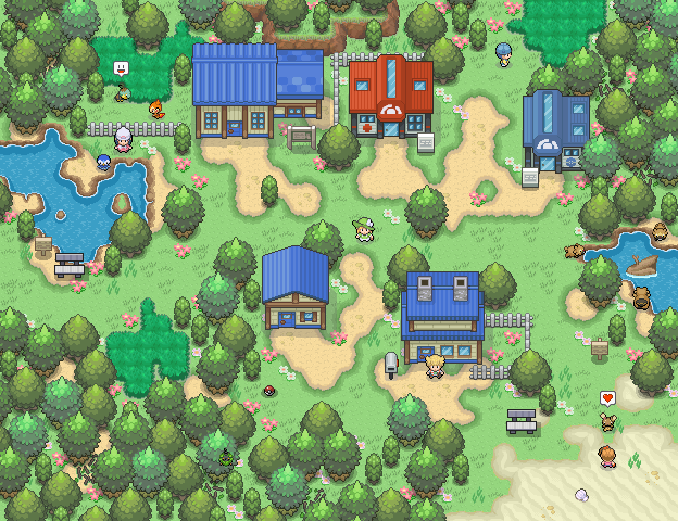 Pokémon-Map: Sandgemme 2.0