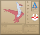 Empyrea the Latias: Ref Sheet