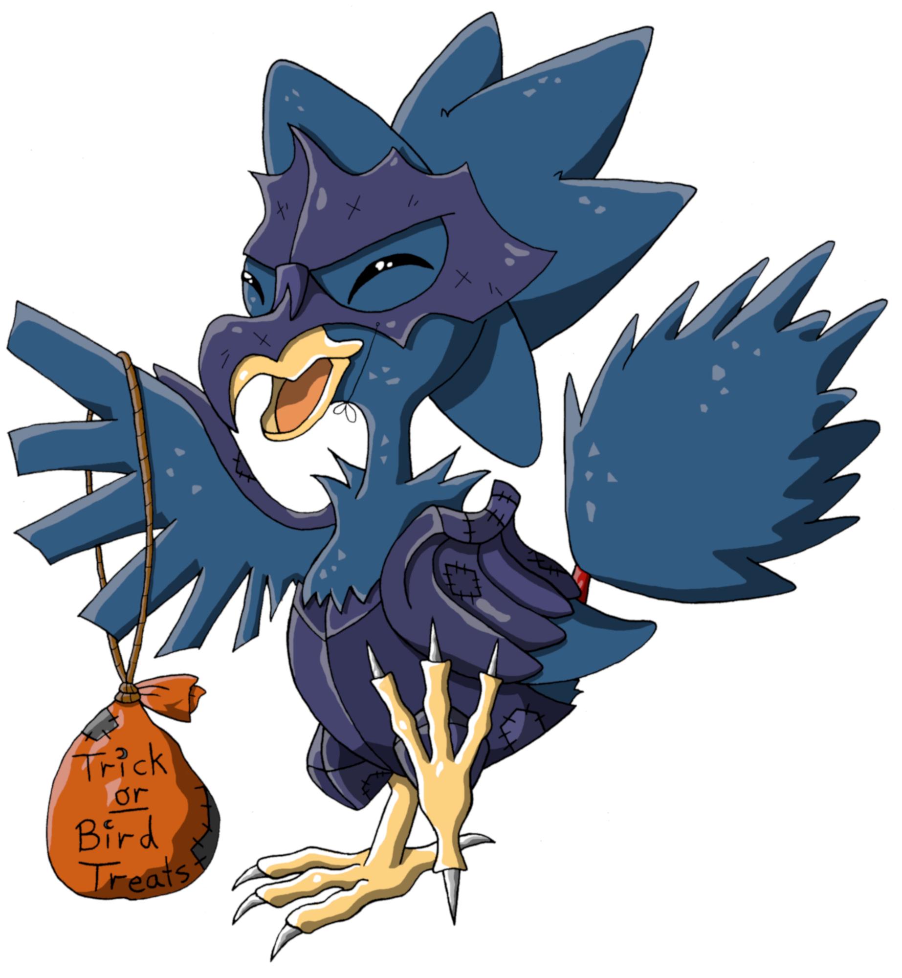 Pokémon-Zeichnung: Happy Halloween!
