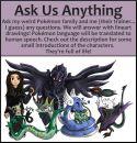 Fragt meine Charaktere!