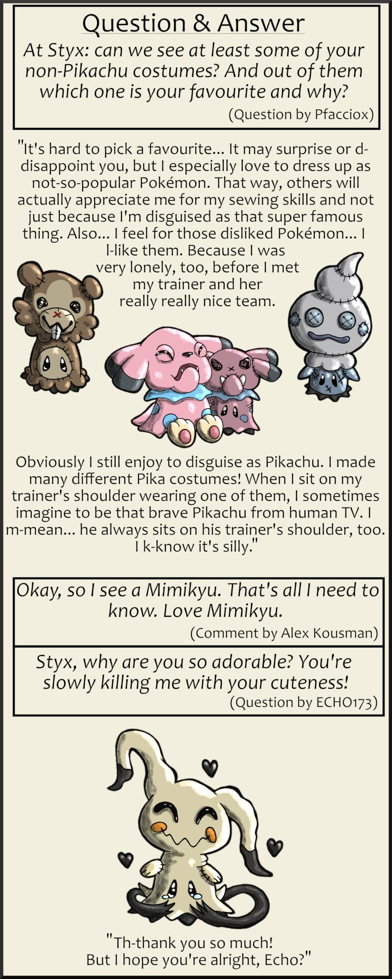 Pokémon-Zeichnung: Question & Answer 2