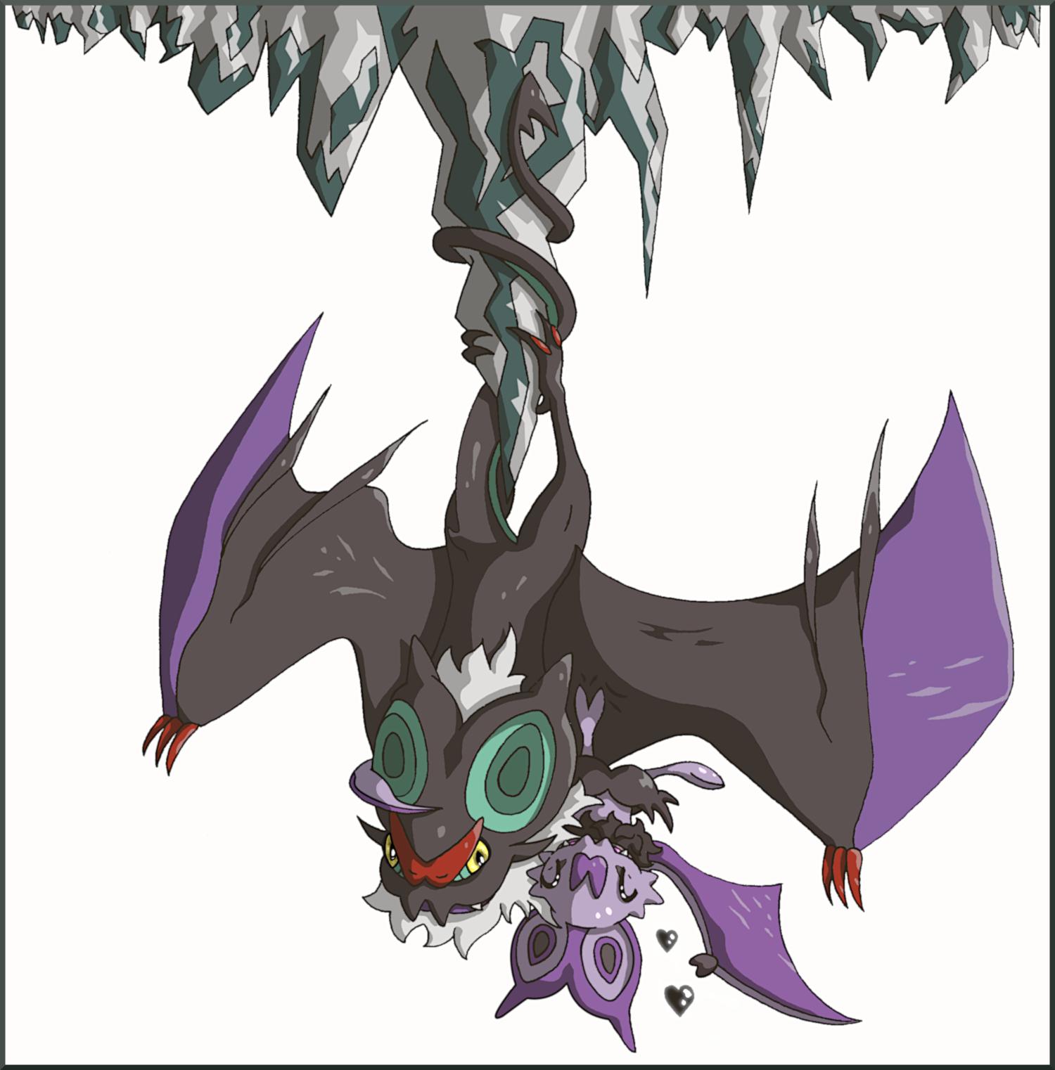 Pokémon-Zeichnung: Wyvern Roost