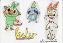 Galar-Starter