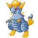 Pokémon-Sprite: Futuristicher Dino