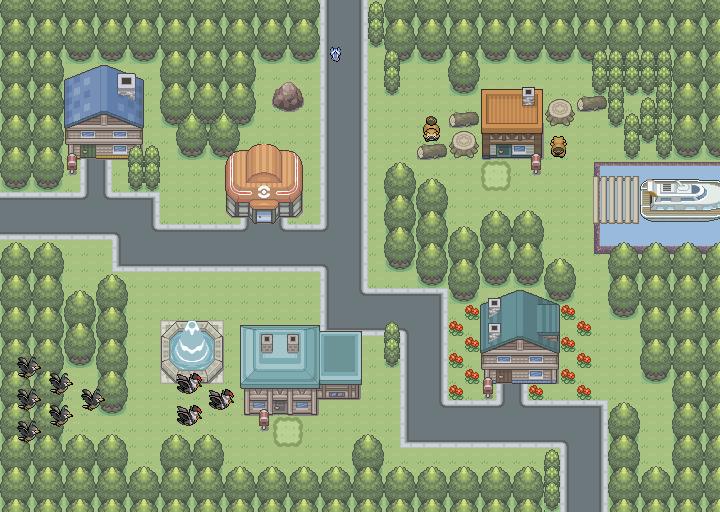 Pokémon-Map: Gamy maps again :o