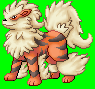 Pokémon-Sprite: Arkani Scratch
