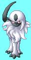 Pokémon-Pixelart: Absol