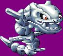 Pokémon-Pixelart: Stahlos Sprite