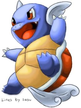 Pokémon-Zeichnung: Schillok Coloration
