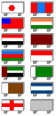 Länder-Tafeln (Asien)