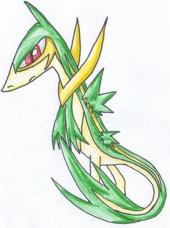 Pokémon-Zeichnung: Tsutawaiya