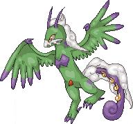 Pokémon-Pixelart: Boreos Scratch