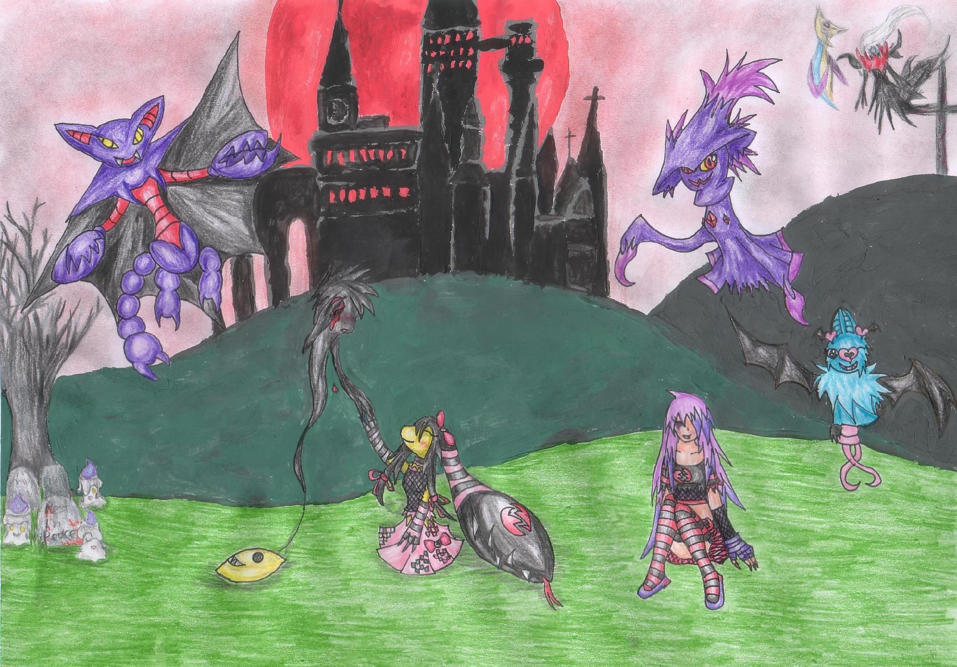 Pokémon-Zeichnung: IFmZeichnung