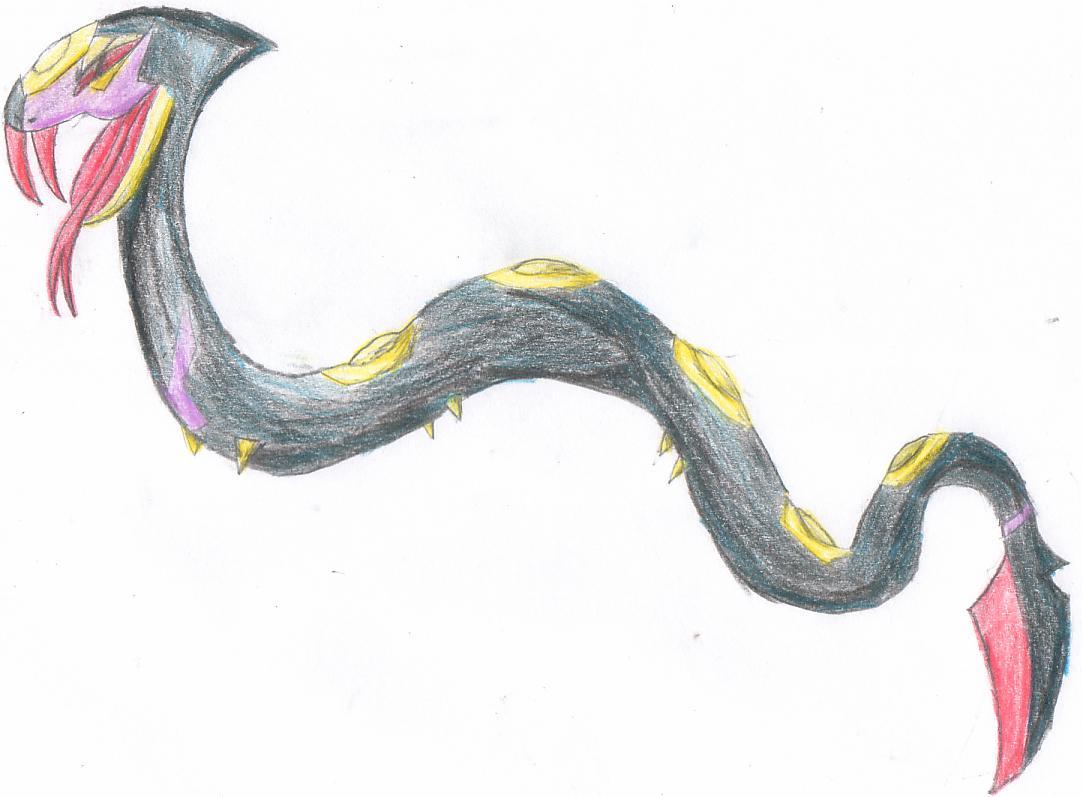 Pokémon-Zeichnung: Vipitis Zeichnung