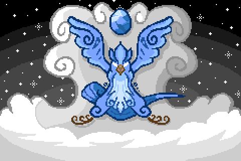 Pokémon-Fanart: Abstraktes Arktos