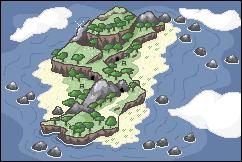 Pokémon-Pixelart: Fröstel Inseln