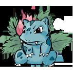 Pokémon-Zeichnung: Bisaknosp