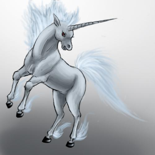Pokémon-Zeichnung: Gallopa Speedpainting