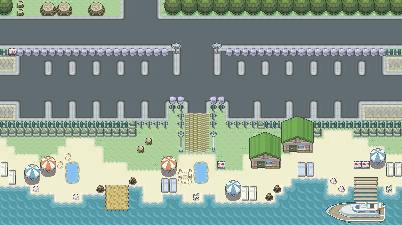 Pokémon-Map: MWB2: Verde Resort