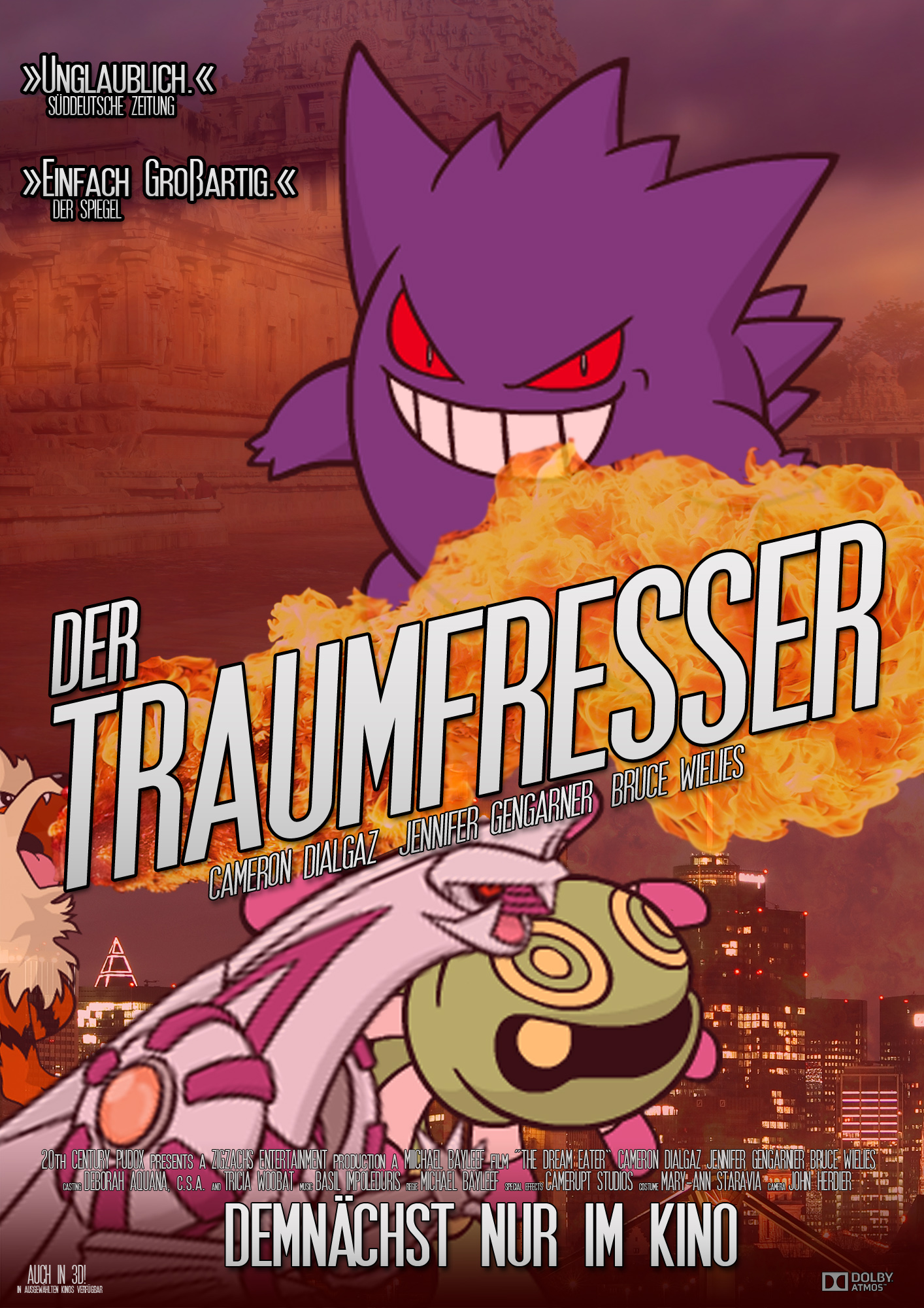 Pokémon-Zeichnung: Der Traumfresser