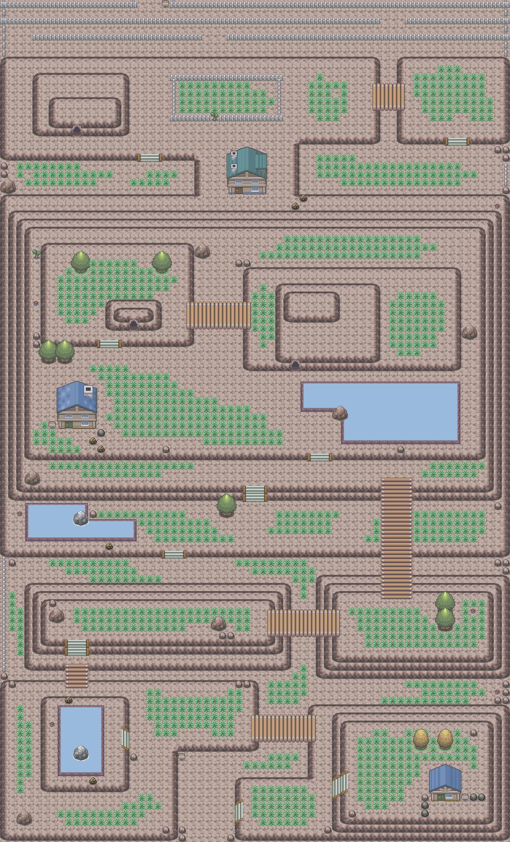 Pokémon-Map: Bergroute II