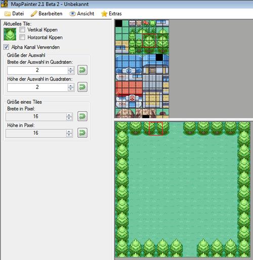 Schritt 2: Abgrenzung mit Bäumen