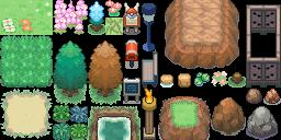 BW Ultimate Tileset (Pokémon Tileset)