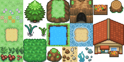 Pokémon Dawn (Pokémon Tileset)