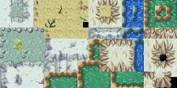 Pokémon Mystery Dungeon (Pokémon Tileset)