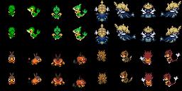 Pokémon der fünften Generation (Pokémon Tileset)