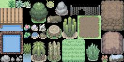 Biome Tileset (Pokémon Tileset)