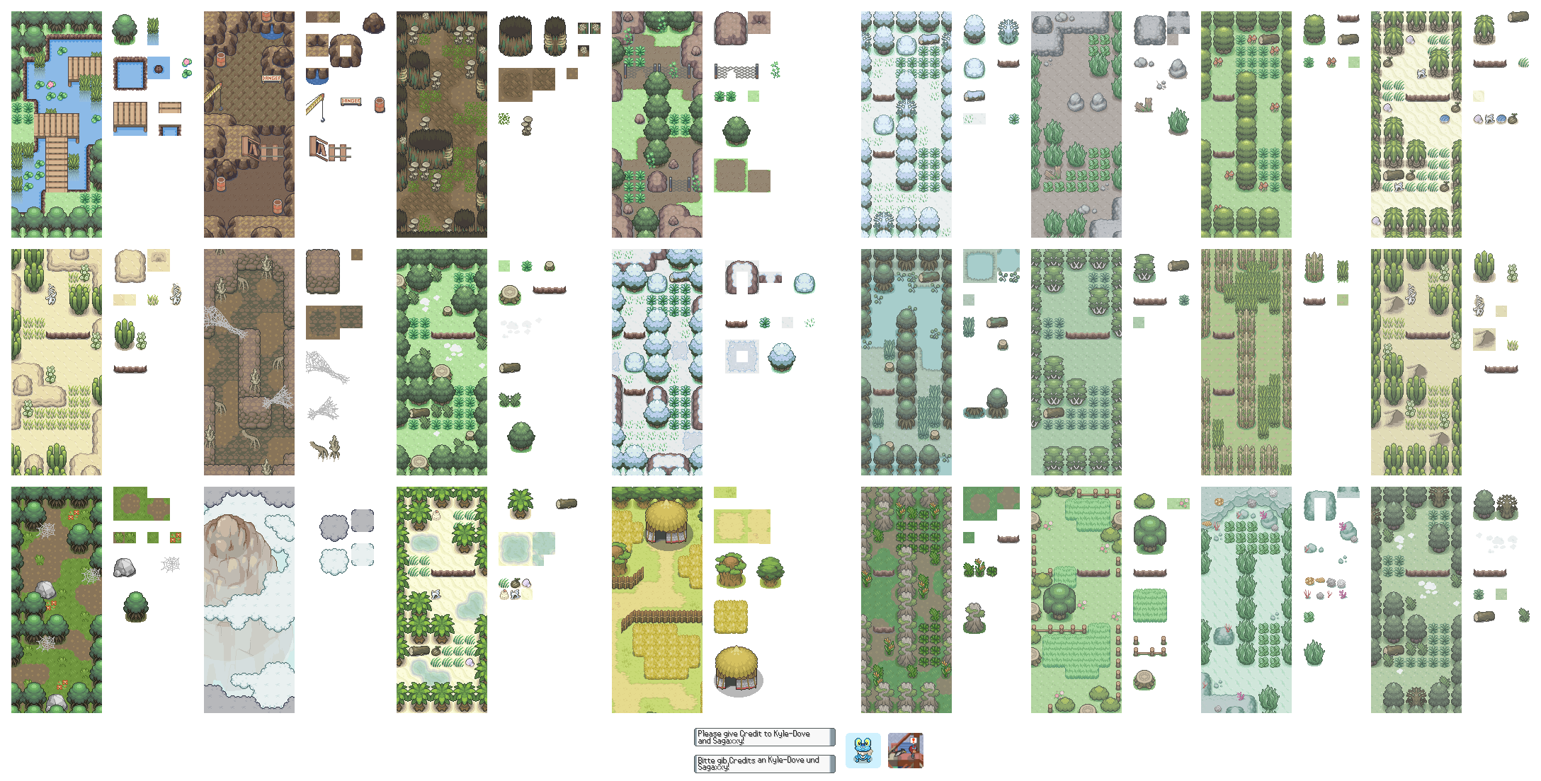 Graphic Tile Mapping Tilesets